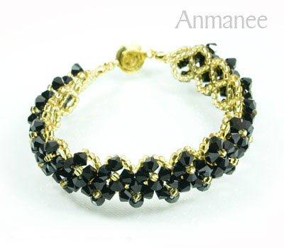 Handcrafted Swarovski Crystal Bracelet - Pikul V 010275