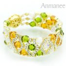 Handcrafted Swarovski Crystal Bracelet - The Queen 010289