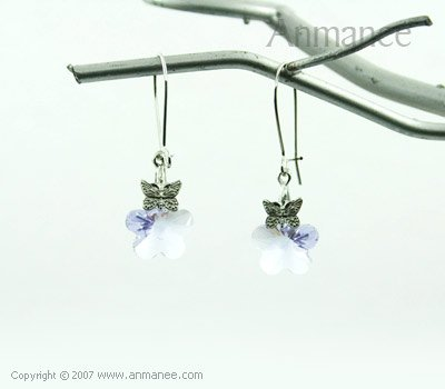 Handcrafted Swarovski Crystal Earrings 01038