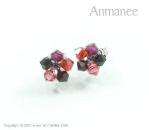 Handcrafted Swarovski Crystal Earrings 010327