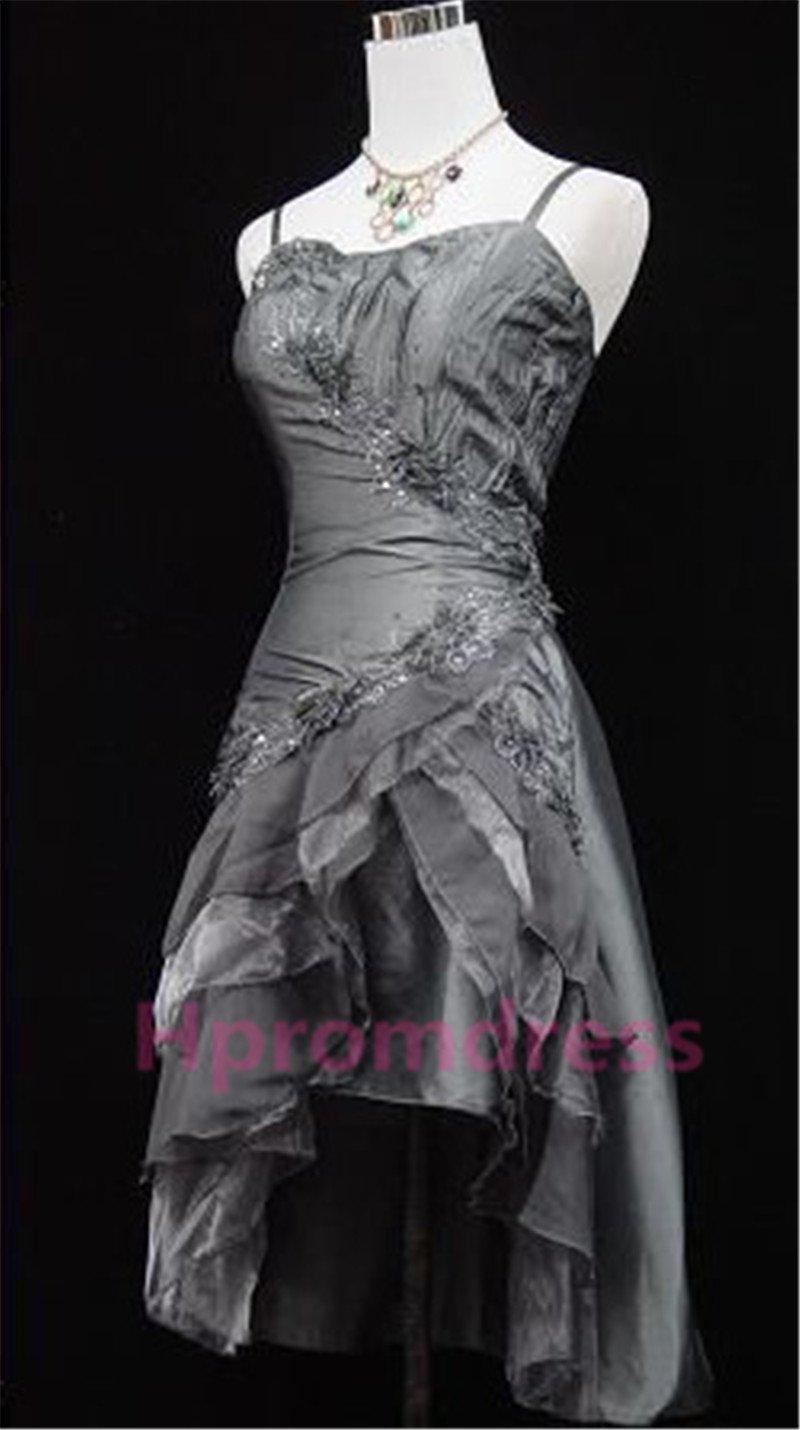 2015 New gray strapless evening dress sexy bridal dress long prom dress