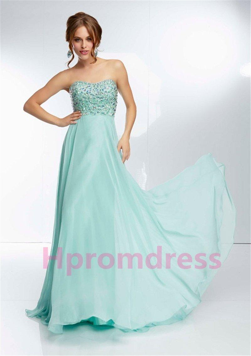 2015 New sexy light sky blue evening dress sexy bridal dress long prom dress