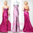 2015 New strapless long evening dress sexy bridal dress long prom dress