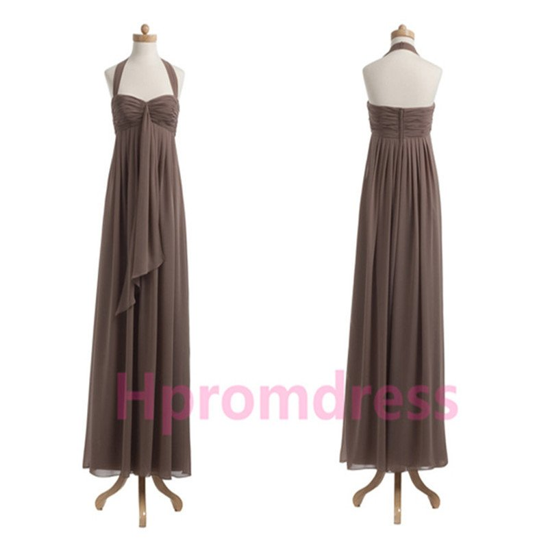 2015 New long evening dress sexy chiffon prom dress Bridesmaid dresses