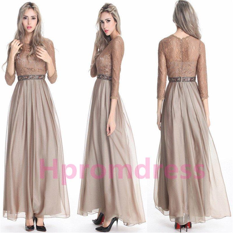 2015 New elegant lace party dress long proms cocktail dresses