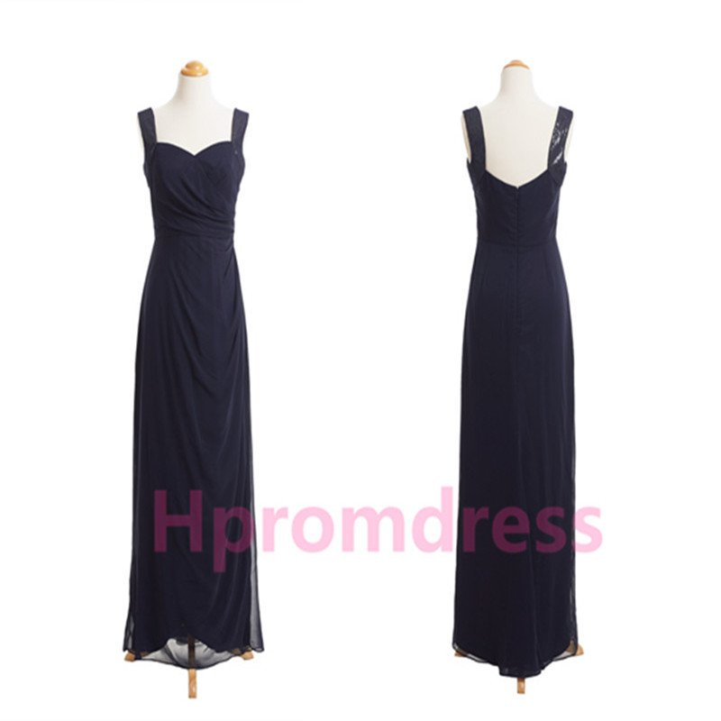 2014 New strapless bridesmaid dress chiffon prom party dress