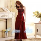 2015 New spaghetti strap evening dress Sister group long prom Dress Bridesmaid Dress