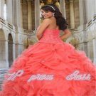 New Quinceanera Dresses Beaded Party Prom Ball Gowns Pageant Dress Custom