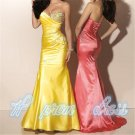Strapless Sweetheart Neckline Bridal Wedding Prom Gown Evening Dress