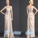 Evening dress New Elegant Chiffon Stunning One Shoulder Prom Dress