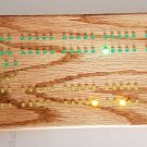 Electronic Cribbage Board LEDcribbage Green Bay Green & Yellow