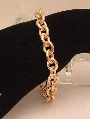 """Bracelet 14 K Yellow Gold Filled Large Link 8.5"""""""