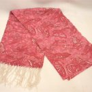New Lilly Pulitzer Hotty Pink Butterfly Kisses Murfee Scarf Silk Cashmere 73236