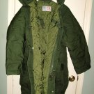 SWEDISH MILITARY WINTER FIELD PARKA M90 LARGE TALL NEW