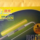 CLIP - ON LIGHT GLOW STICKS FLUORESCENT SIZE LARGE 3 PACK NIGHT FISHING