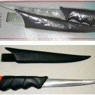 """FLOATING FILLET KNIFE DOLPHIN 5-1/2"""" STEEL BLADE"""