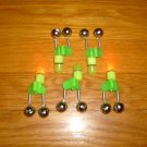 FISHING ROD TWIN BELL WITH TIP LIGHT 10 pcs