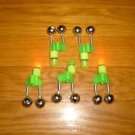 FISHING ROD TWIN BELL WITH TIP LIGHT 6 pcs