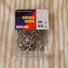 Octopus Circle Hooks 6/0 pcs 200 Chemically Sharpened