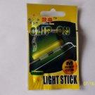 CLIP - ON LIGHT GLOW STICKS FLUORESCENT SIZE MEDIUM 10 RETAIL PACK NIGHT FISHING