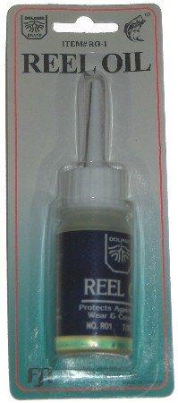 Fishing Reel Oil Dolphin 7/8 fluid oz bottle
