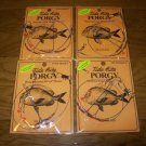 4 PACK RIGS PORGY Beaded Wire HI-LO Rig #R460-2 FREE USA SHIPPING