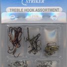 Pro Striker TREBLE Hook Assortment 30 PCS SIZES 2 - 4 - 6