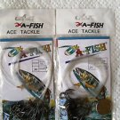"""Octopus  Hooks With 20"""" mono leader 60 pcs SIZE 20"""