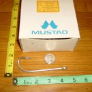 "MUSTAD SEA KIRBY HOOKS SIZE 2 TINNED 24 PCS 2 X LONG 2 X STRONG 4 1/8 "" X 11/8"""