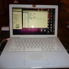 "MacBook 13"" 4.1 160GB 2.4GHz 4GB RAM White DVD A1181 10.7 Apple Laptop"
