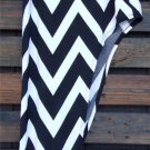 Womens Small Skirt Womens Small Chevron Patterned Skirt Soul of the Sea ~~