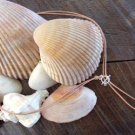 Pearl and Leather Necklace Large Hole Pearls Soul of the Sea Made In The USA N126 ~~~~~~~~~