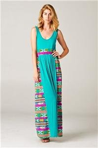 Womens Large Dress NWT Womens Maxi Dress Gilligan's Boutique ~~