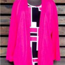 Womens Large Sweater NEW NWT Alfred Dunner Large Shirt Original Price $68.00