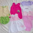 Infant Size 6 Months Top Onesies Dress Outfits 6-9 Months 8 Pieces Ex Cond ~~