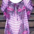Bebe Small Blouse NEW Womens Small Top Shirt Gilligans Boutique ~~~~~~~~