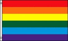Gay Pride Rainbow Flag 3 x 5 Foot Polyester