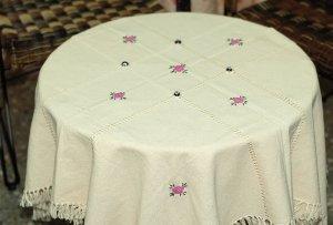 Turkish Handmade Elegant and Unique Tablecloth