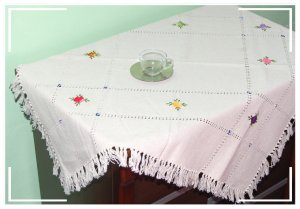 Turkish Handmade Elegant and Unique Tablecloth 12