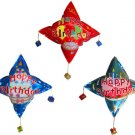 lot of 20 Happy Birthday auto inflatable hangings (balloon)