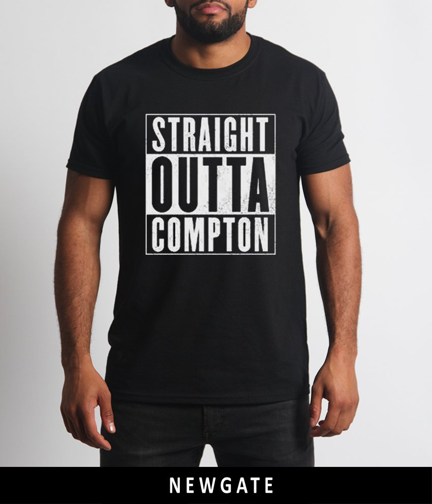 Nwa straight outta compton logo new t shirt clothing for Straight from the go shirt