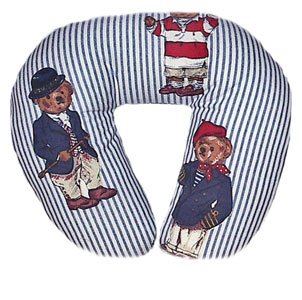 For The Sophisted Baby Boy - Travel Neck Wrap for Baby - Teddy Bears
