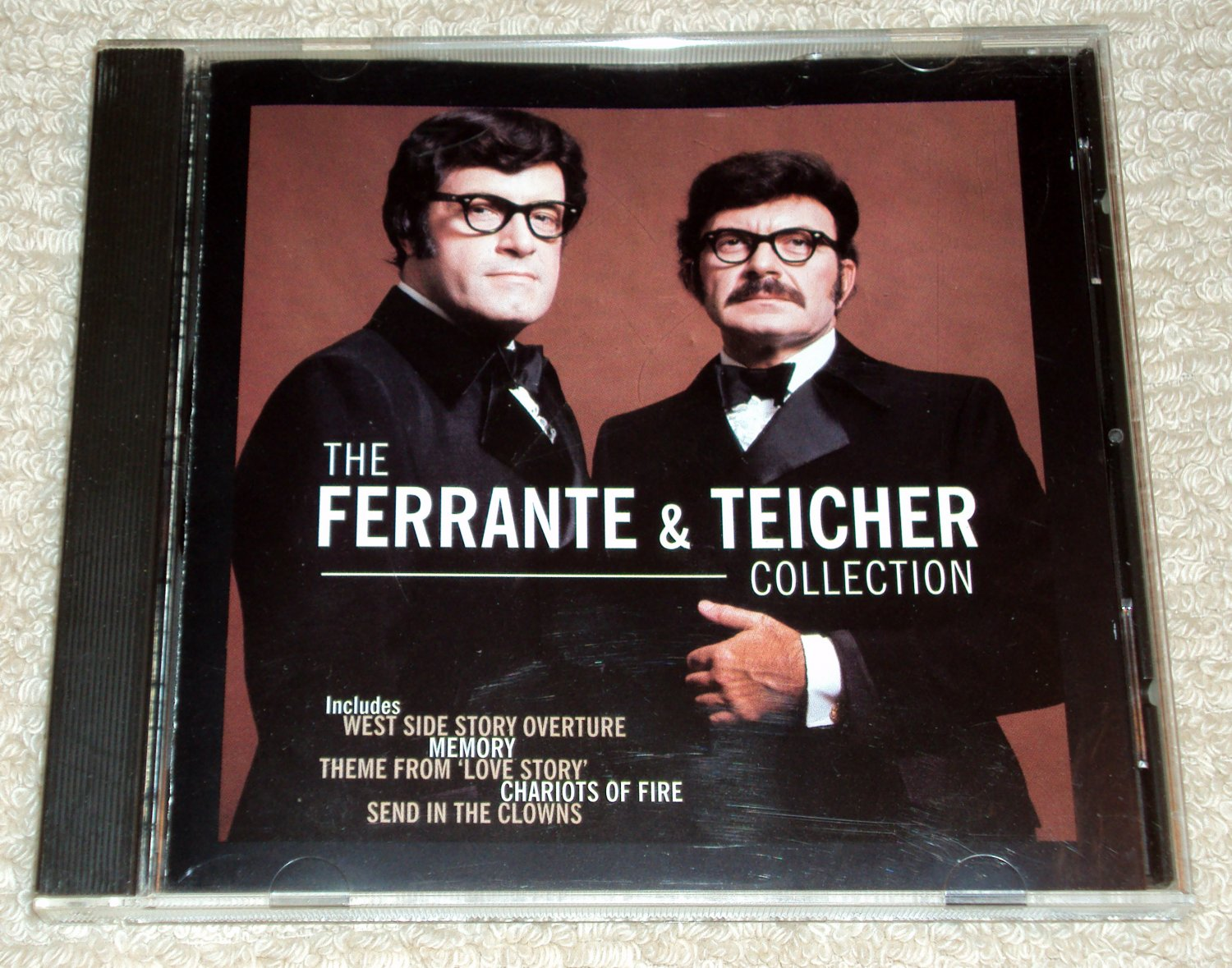 The Ferrante & Teicher Collection CD West Side Story, Love Story, Send in the Clowns