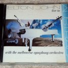 Elton John - Live In Australia CD Melbourne Symphony Orchestra 14trks