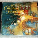 All Time Christmas Favorites Volume IV (4) CD Brenda Lee, Fred Waring, Liberace...