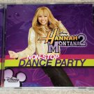 Hannah Montana 2 Non-Stop Dance Party ENHANCED CD with bonus features