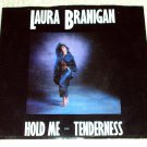 """Laura Branigan - Hold Me (2 versions) 7"""" Picture Sleeve 45RPM PROMO Record"""