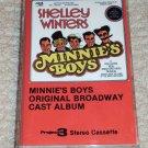 Minnie's Boys Original Broadway Cast Album Soundtrack Cassette Shelley Winters