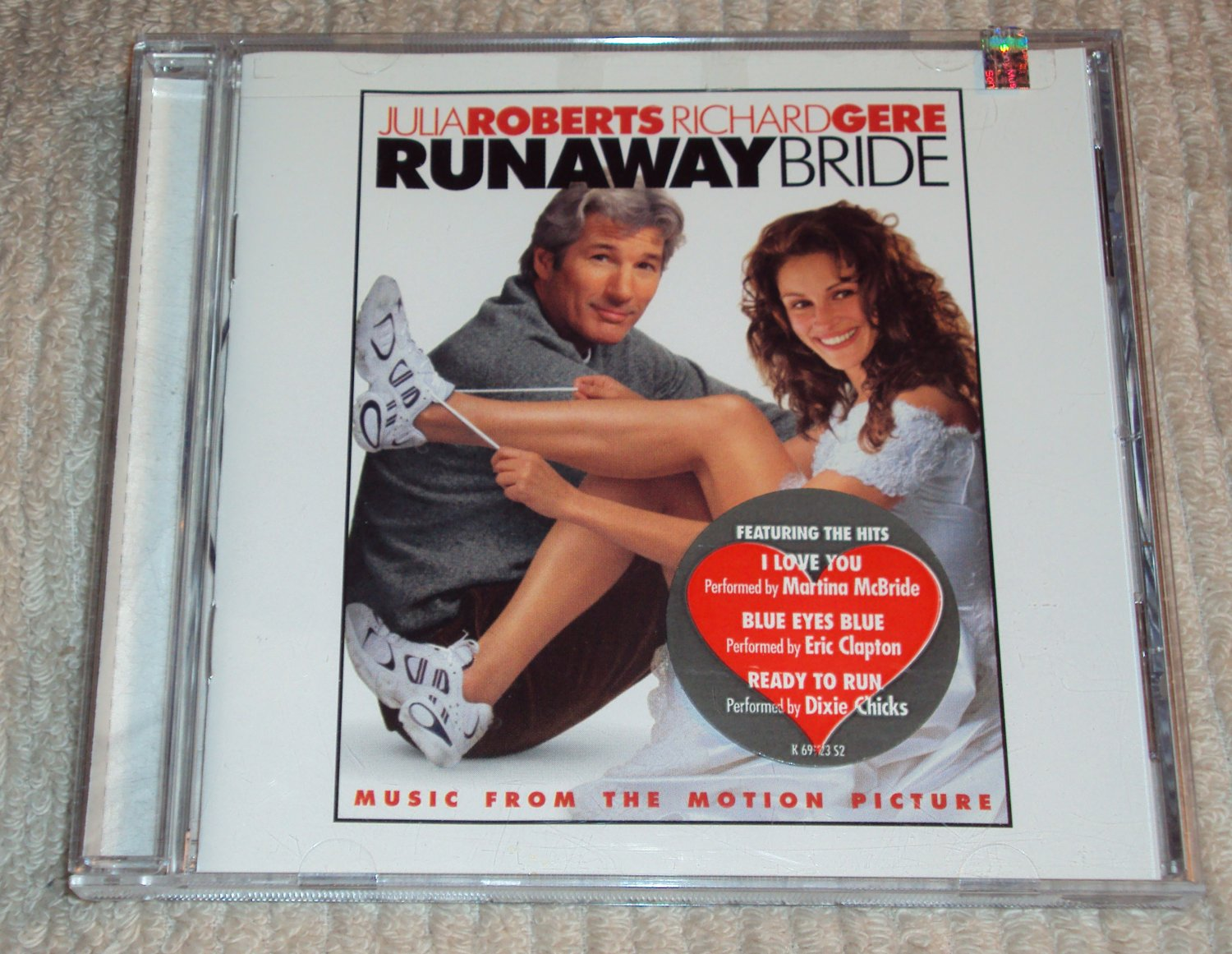 runaway bride soundtrack cd u2 billy joel hall amp oates