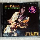 Stevie Ray Vaughan and Double Trouble - Live Alive CD 13trks
